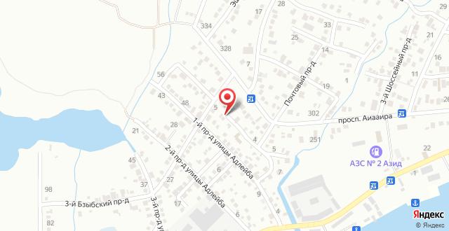 Гостевой дом У Палыча на карте