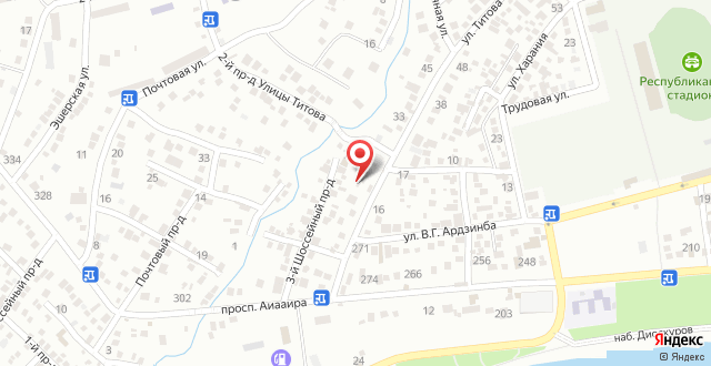 Гостевой дом у Инги на карте