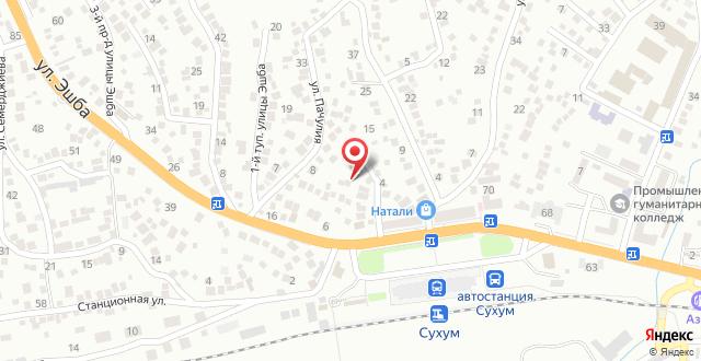 Отель Дом под ключ на карте