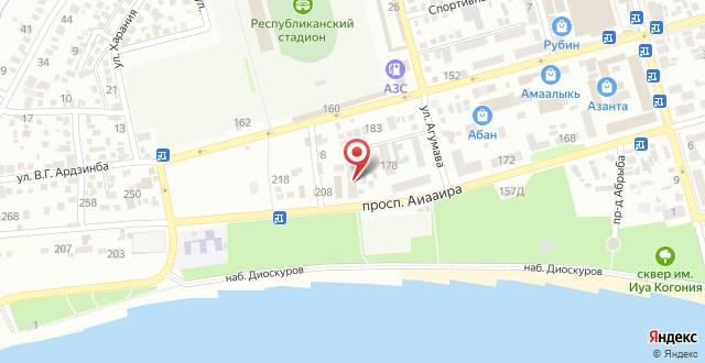 Апартаменты У Марины на карте