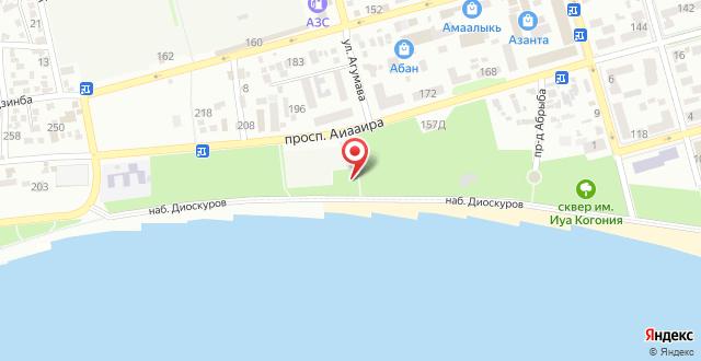 Отель Калипсо на карте