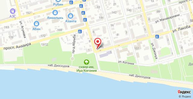 Апартаменты Имам Шамиль 4 на карте