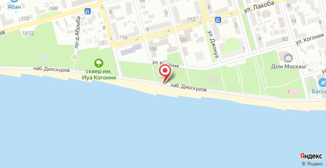 Отель Дэм на карте