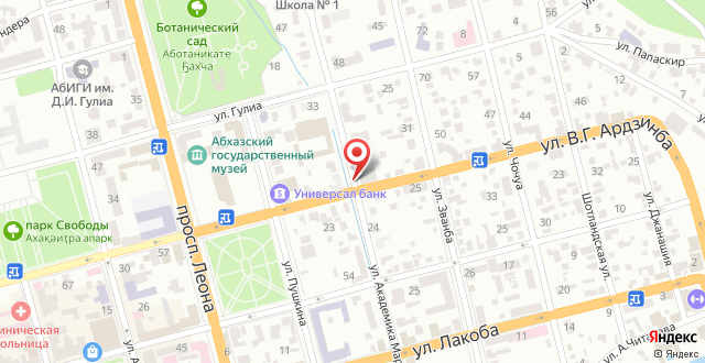 Апартаменты На Марра 40 на карте