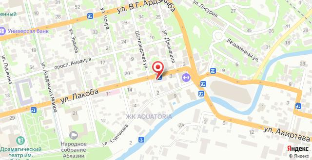 Бутик-Отель Леон на карте