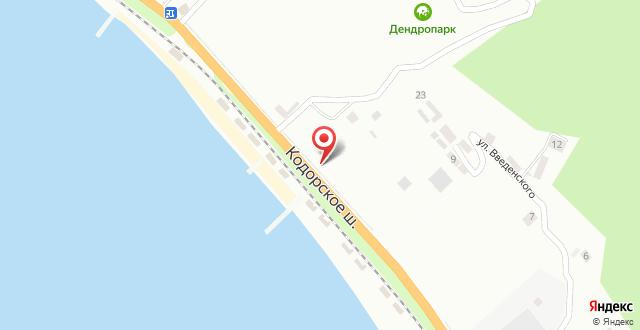 Мини-отель Песчаный берег на карте