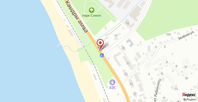 Мини-отель Мачара на карте
