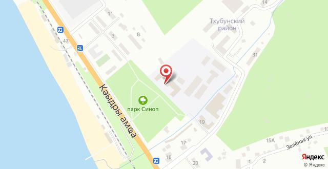 Апартаменты Синоп на карте