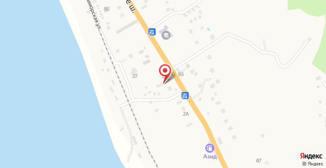 Гостевой дом На Абжуйском шоссе на карте