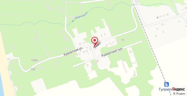 Семейный отель Эвкалиптовая роща на карте