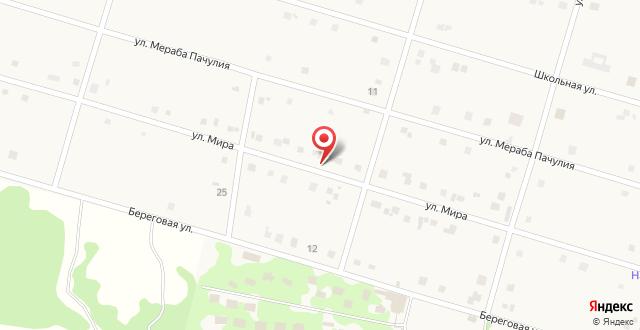 Гостевой дом Эвкалипт на карте