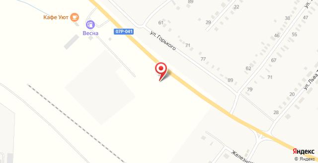 Гостиничный комплекс Автобан плюс на карте