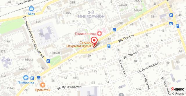 Отель Монарх на карте