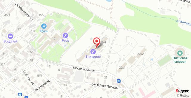Отель Park&House на карте