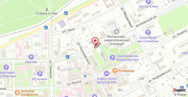 Гостевой дом Вилла Герман на карте
