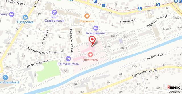 Апарт-отель Комплимент на карте