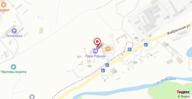 Отель Парк Родник на карте