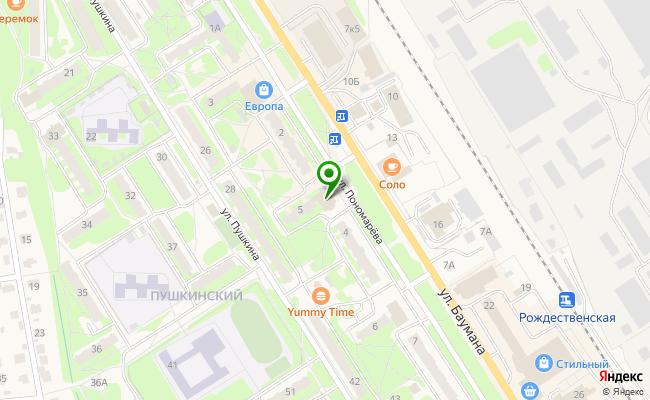 Сбербанк Заволжье ул. Пономарева 5А карта