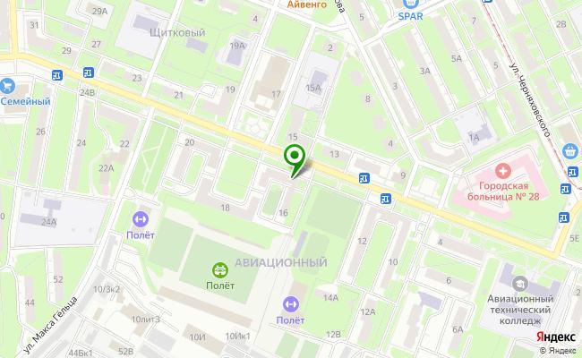 Сбербанк Нижний новгород ул. Чаадаева 16 карта
