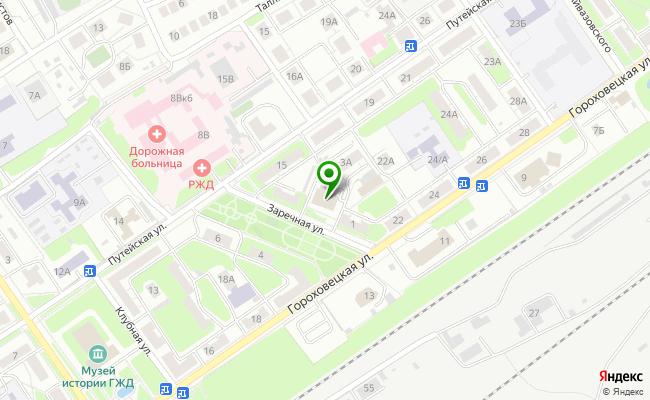 Сбербанк Нижний новгород ул. Заречная 3 карта