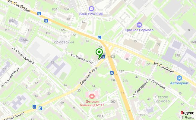 Сбербанк Нижний новгород переулок Союзный 3А карта