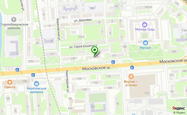 Сбербанк Нижний новгород шоссе Московское 173 карта