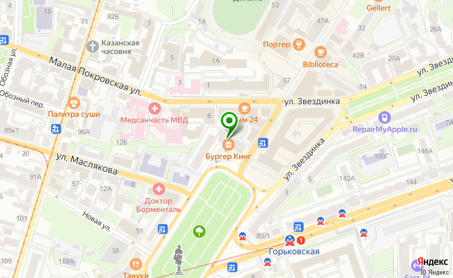 Сбербанк Нижний новгород площадь Максима Горького 1/61 карта