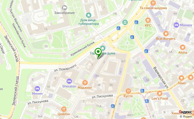 Сбербанк Нижний новгород ул. Большая Покровская 3 карта