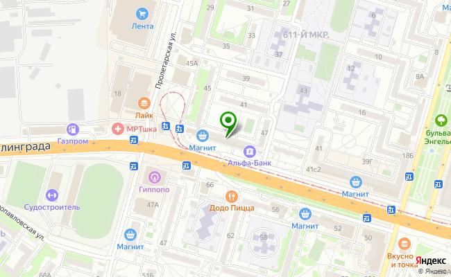 Сбербанк Волгоград проспект Героев Сталинграда 49 карта