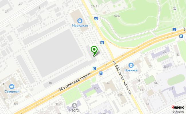 Сбербанк Чебоксары проспект Московский 40 карта