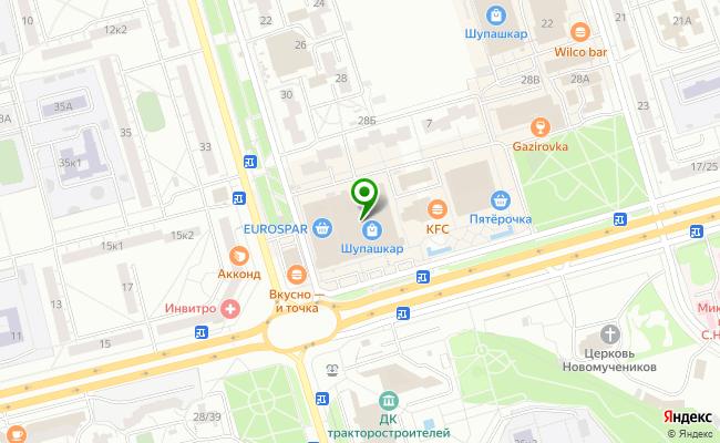 Сбербанк Чебоксары проспект Тракторостроителей 1/34 карта