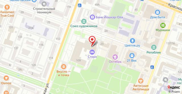 Бутик-Отель Stone на карте