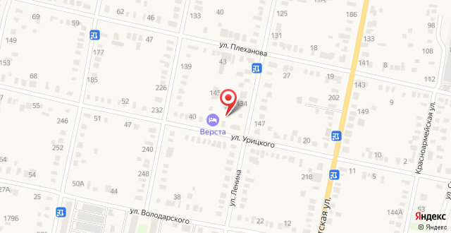 Гостевой дом Верста на карте
