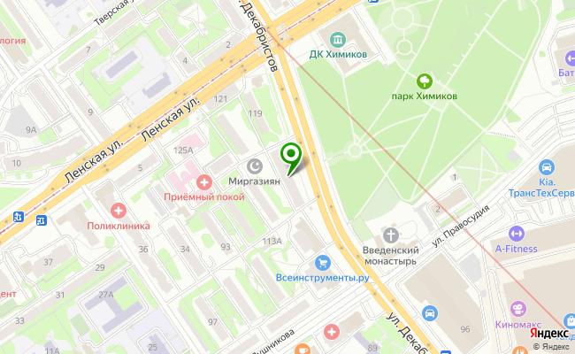 Сбербанк Казань ул. Декабристов 117 карта