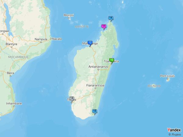 Heavy Oil to Madagascar