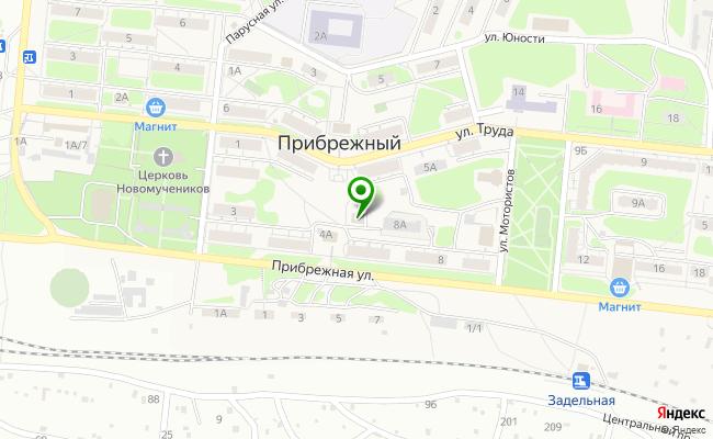 Сбербанк Самара пгт.Прибрежный, ул. Прибрежная 6, корп.А карта