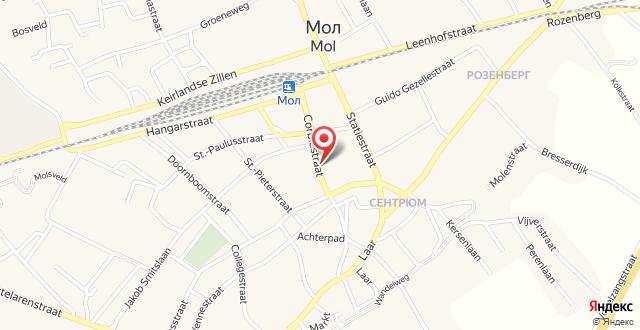 Corbie Mol на карте