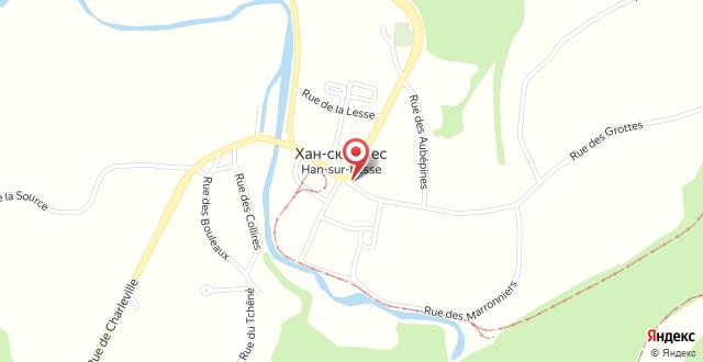 Hotel Grenier des Grottes на карте