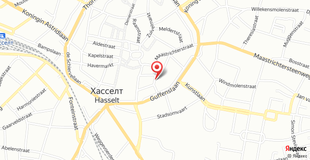 Radisson Blu Hotel Hasselt на карте