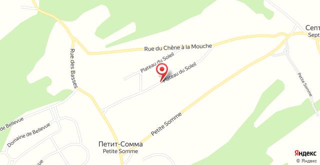 Chalet Du Soleil Grand Luxe на карте