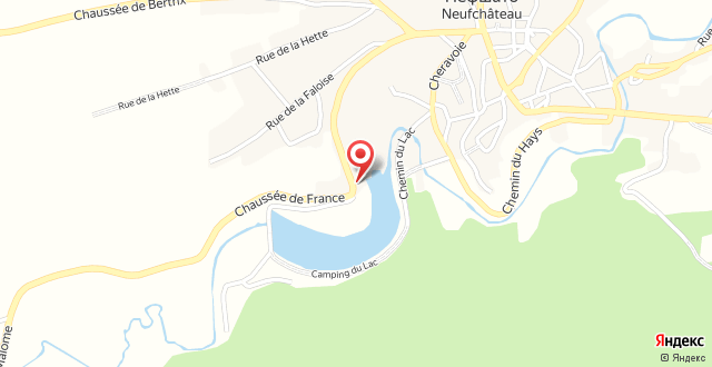 Hotel Eden Ardenne на карте