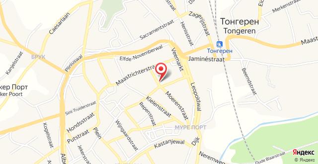 Eburon Hotel на карте