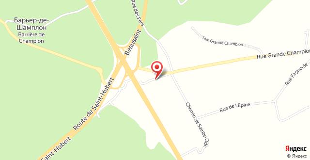 Auberge de Jeunesse de Champlon на карте