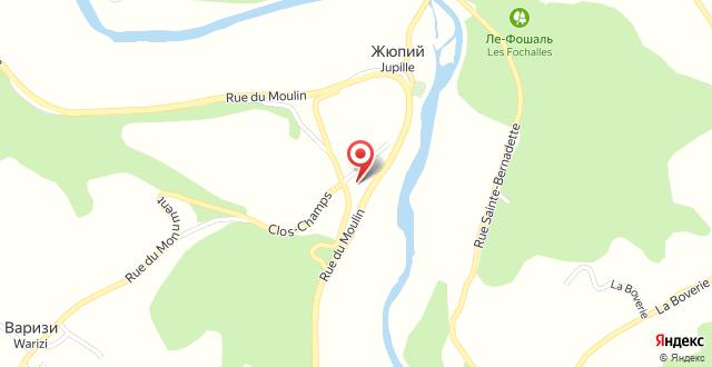 Les Tilleuls Hotel на карте