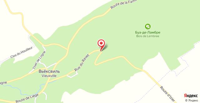 Chalet Vieuxville на карте