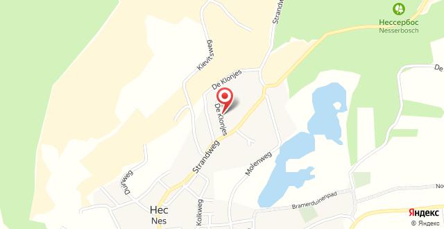 Hotel Bos en Duinzicht на карте