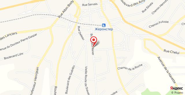 Hotel La Villa de Spa на карте
