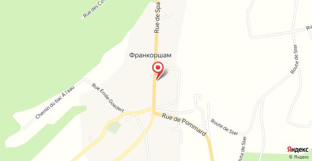 Hostellerie Le Roannay на карте