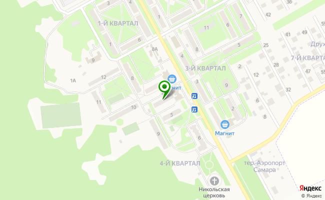 Сбербанк Самара пгт.Береза, квартал 4 4 карта
