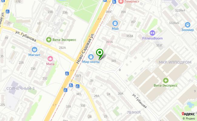 Сбербанк Самара Промышленный район, ул. Ново-Садовая 347, корп.А карта